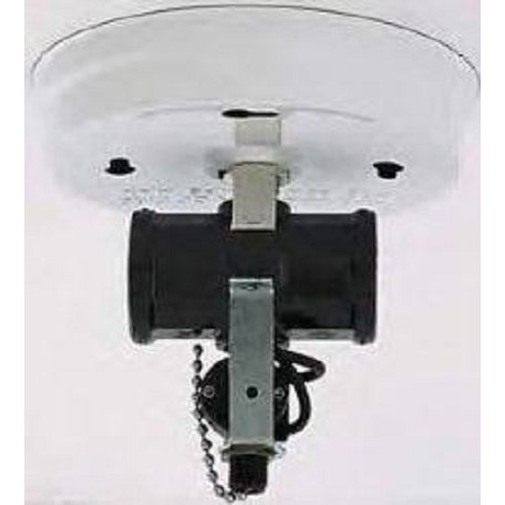 Satco Products Inc. Twin Cluster Ceiling Hldr W/Switch-White