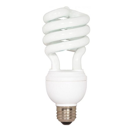 Satco Products Inc. 12/20/26 Watt; Spiral; Compact Fluorescent; 5000K; 82 Cri; Medium Base