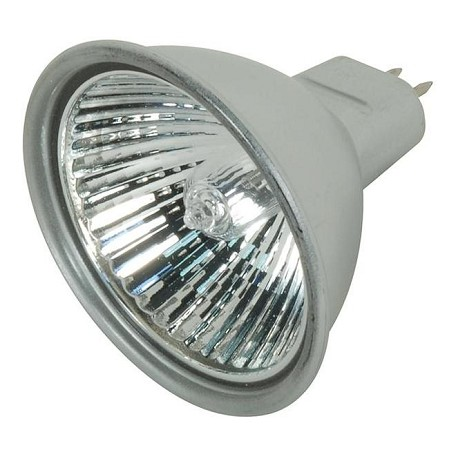 Satco Products Inc. 20 Watt Halogen; Mr16; Bab; Silver Back; Miniature 2 Pin Round Base; 1