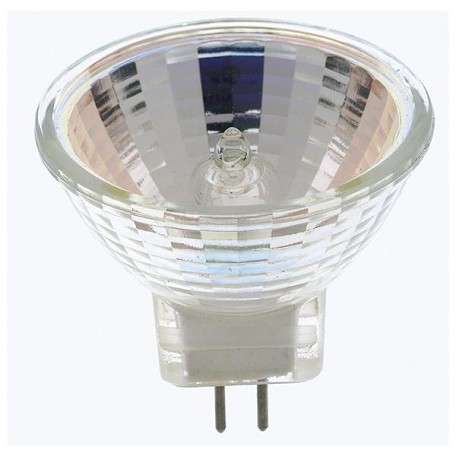 Satco Products Inc. 10 Watt Halogen; Mr8; 2000 Average Rated Hours; Bi Pin Base; 12 Volts