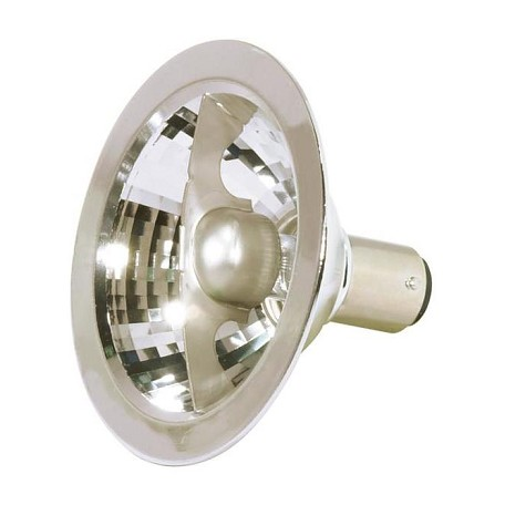 Satco Products Inc. 20 Watt Halogen; Ar70; 3000 Average Rated Hours; Dc Bay Base; 12 Volts