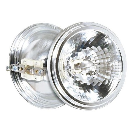 Satco Products Inc. 50 Watt Halogen; Ar111; 3000 Average Rated Hours; G53 Base; 12 Volts