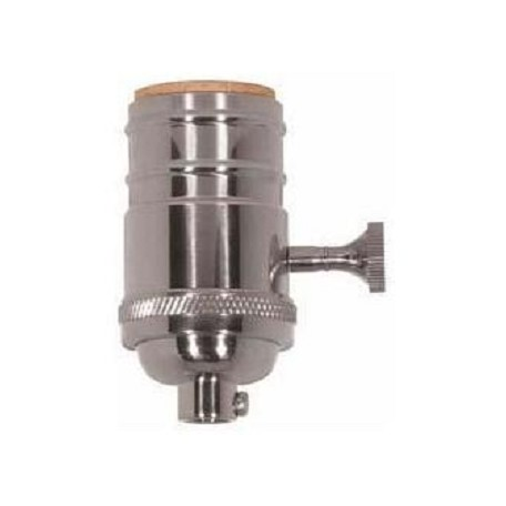 Satco Products Inc. Pni Cast Brass 3Way Skt 1/8 Cap
