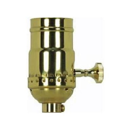 Satco Products Inc. Pni Solid Brass 3 Term. Skt