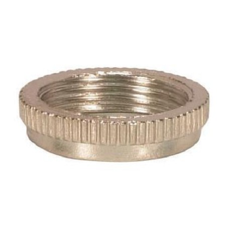 Satco Products Inc. Nickel Ring For Threaded Candelabra Skt