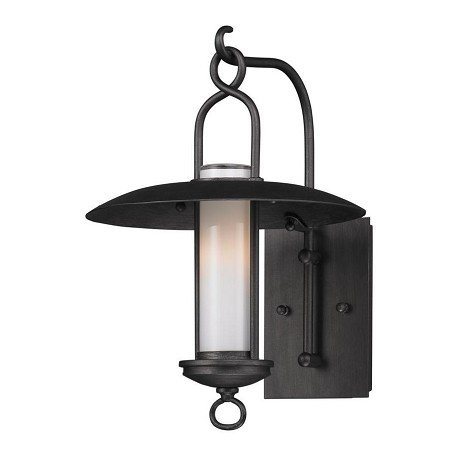 Troy One Light Graphite Wall Lantern