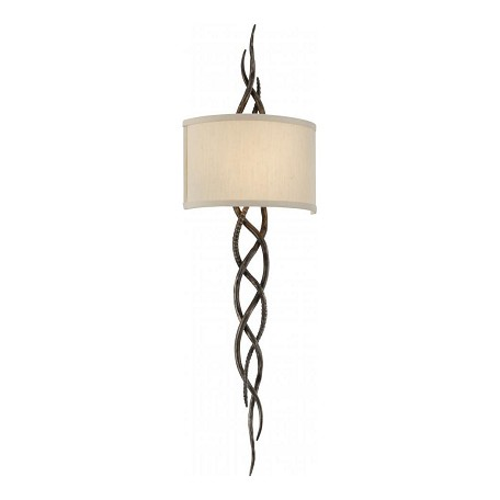 Troy Two Light Cottage Bronze Wall Light