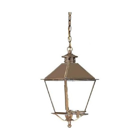 Troy One Light Natural Rust Hanging Lantern