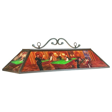 RAM Gameroom 48In. Hand-Painted Billiard Light