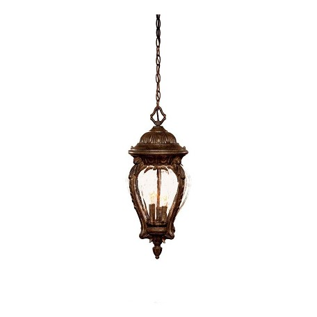 Acclaim Lighting Three Light Black Coral Hanging Lantern