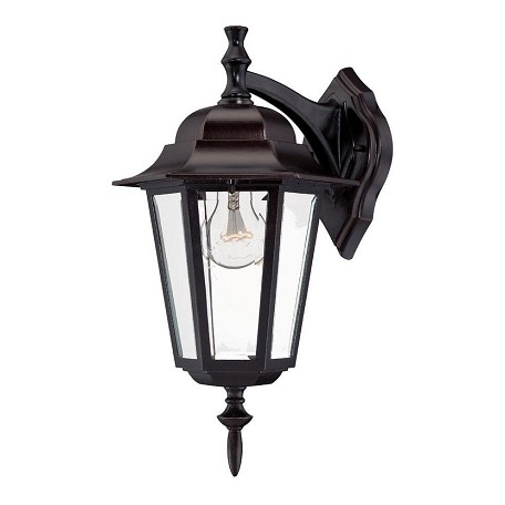 Acclaim Lighting One Light Architectural Bronze Wall Lantern