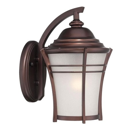 Acclaim Lighting Vero Collection Wall Lantern 1-Light Outdoor Architectural Bronze Light Fixture
