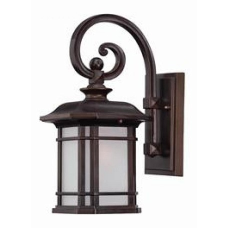 Acclaim Lighting Somerset Collection Wall-Mount 1-Light Outdoor Architectural Bronze Light Fixtur