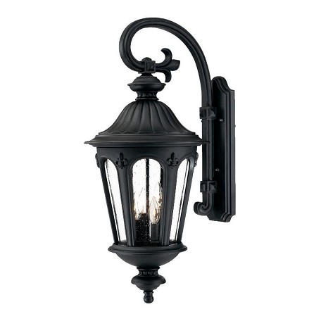 Acclaim Lighting Four Light Matte Black Wall Lantern