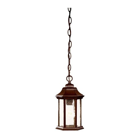 Acclaim Lighting One Light Textured White Hanging Lantern
