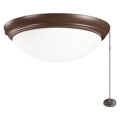 Kichler Low Profile Fixture Large Copper 380020cmo From Accessory Collection