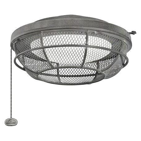 Kichler Industrial Mesh Light Fixture Black 370044wzc From