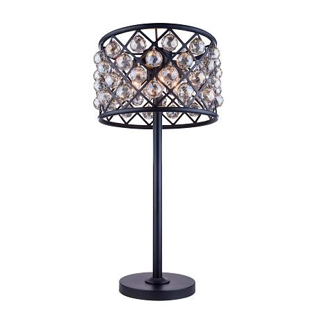 Urban Classic 1206 Madison Collection Table Lamp Mocha
