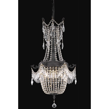 Elegant lighting dining room chandelier dark bronze dark for Elegant chandeliers dining room