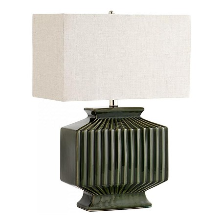 Cyan Designs Green Hamilton 1 Light Accent Table Lamp With