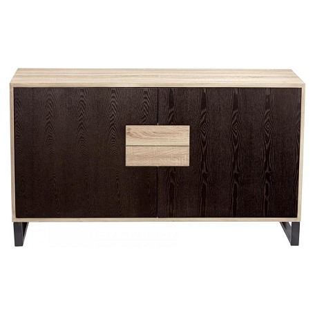 Cyan Designs Oak Veneer Miles 32 Inch Tall Wood Cabinet