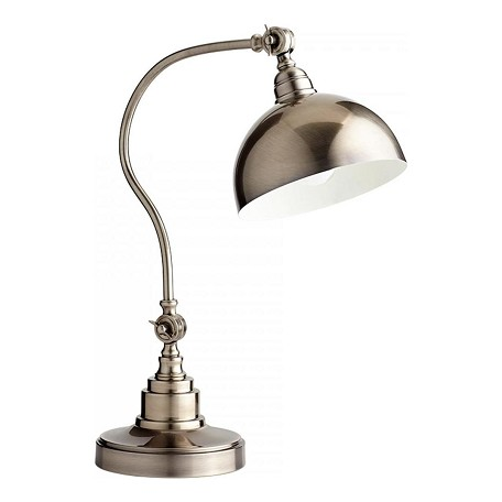 Cyan Designs Pewter Chemile 1 Light Accent Table Lamp With