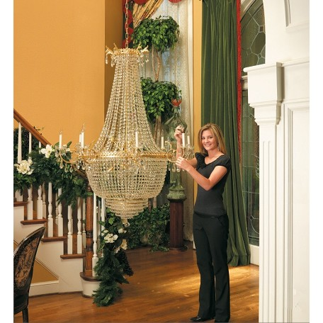 Aladdin 200 Pound Capacity Chandelier Light Lift ALL200