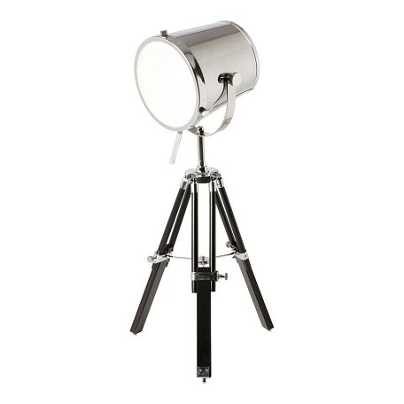 Dainolite tripod spotlight table lamp chrome 5552t pc - Tripod spotlight lamp ...