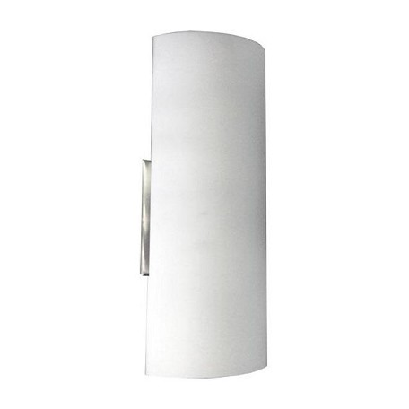 Dainolite 1 Light Wall Sconce With White Frosted Glass White 605W-SC