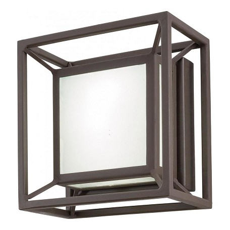 Minka George Kovacs Sand Bronze LED Outdoor ADA Wall Sconce from the Outline Collection