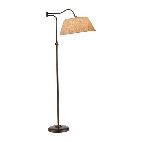 Adesso Rodeo Floor Lamp In Antique Bronze