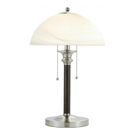Adesso Lexington Table Lamp In Walnut
