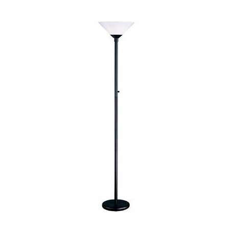 Adesso Aries Floor Lamp In Black