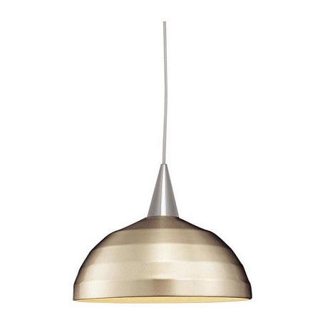 WAC US Felis - Line Voltage J-Track Pendant - Brushed Nickel Shade With White Socket &