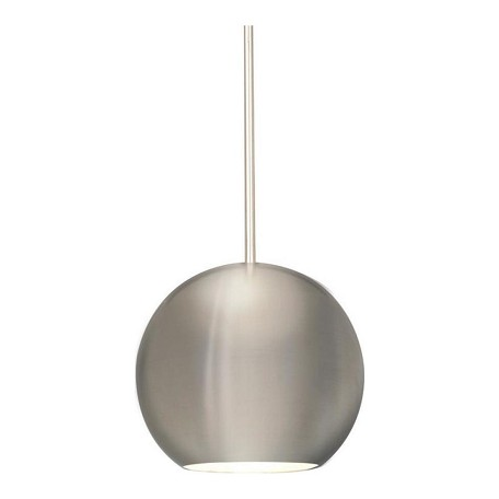 WAC US Stadt Monopoint Pendant - Brushed Nickel Shade With Brushed Nickel Socket Set, C