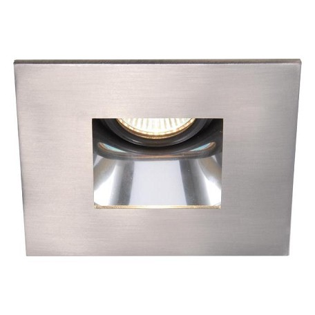 Wac Us Brushed Nickel 4 Quot Low Voltage Recessed Light Square