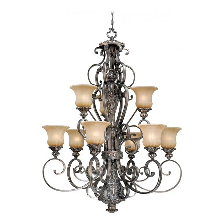Vaxcel International Bellagio 9L Chandelier
