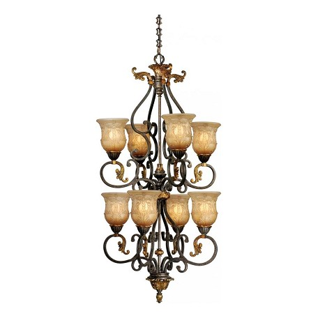 Vaxcel International Caesar 8L Chandelier