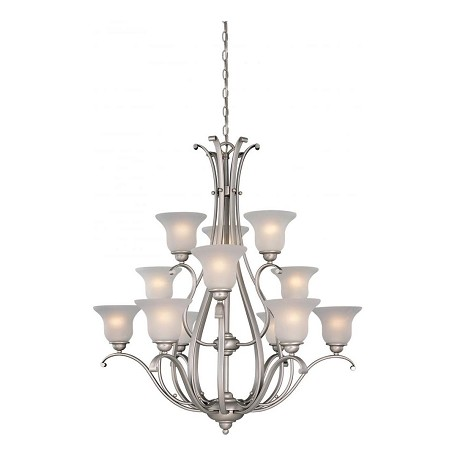 Vaxcel International Monrovia 12 Light Chandelier