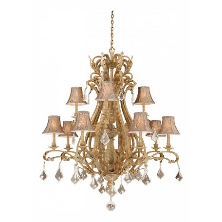 Vaxcel International Empire 12L Chandelier