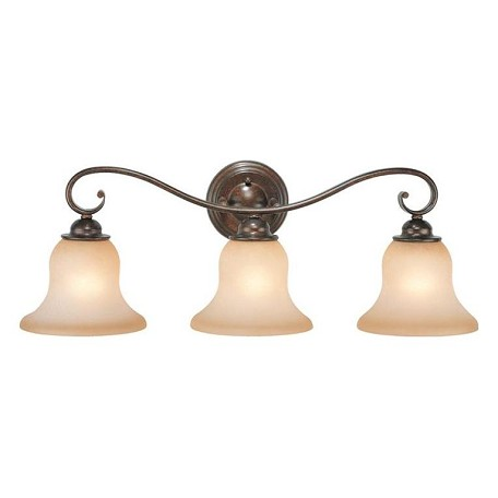 Vaxcel International Monrovia 3L Vanity Light Finish