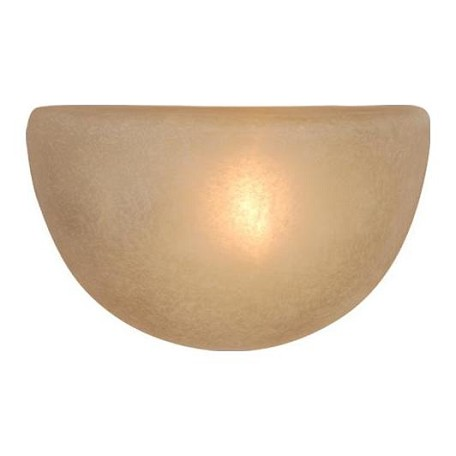 Vaxcel International Saturn Wall Sconce W/ Creme Cognac Glass