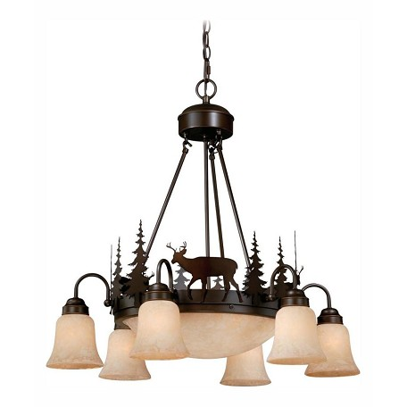 Vaxcel International Bryce 9L Chandelier