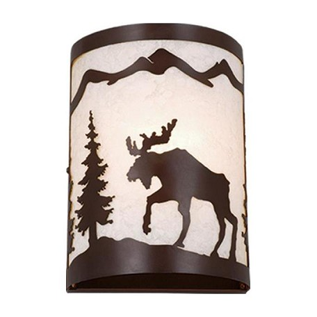 Vaxcel International Yellowstone 8In. Wall Sconce