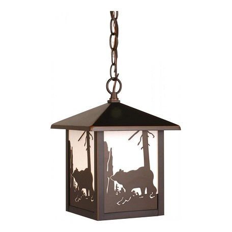 Vaxcel International Bozeman Outdoor Pendant Bbz (Bear)