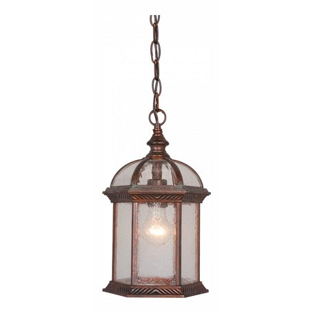 Vaxcel International Chateau 8In. Outdoor Pendant