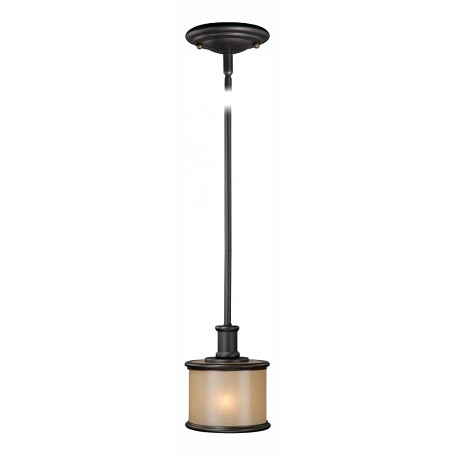 Vaxcel International Carlisle 6In. Mini Pendant