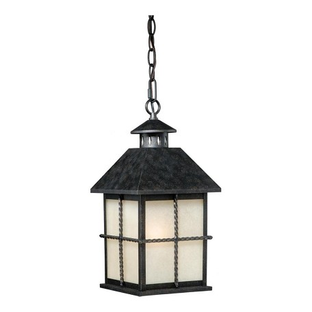 Vaxcel International Savannah 8In. Outdoor Pendant