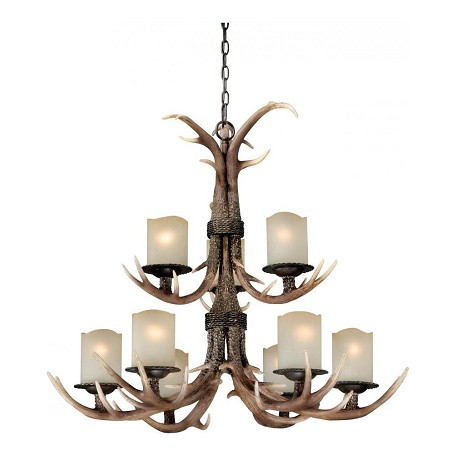 Vaxcel International Yoho 9L Chandelier