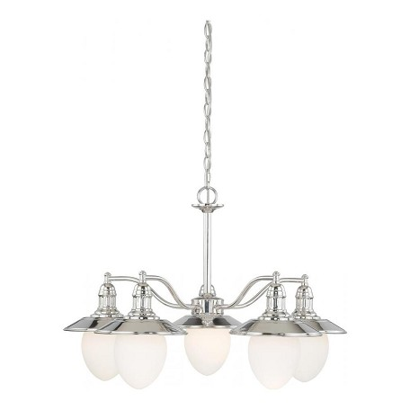 Vaxcel International Marina Bay 5L Chandelier